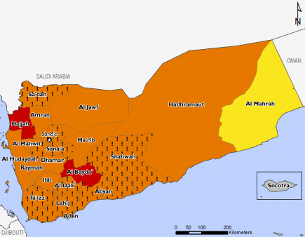 Yemen Food Security Outlook Update Sun 20170430 Famine Early