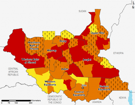 South Sudan ML2 map